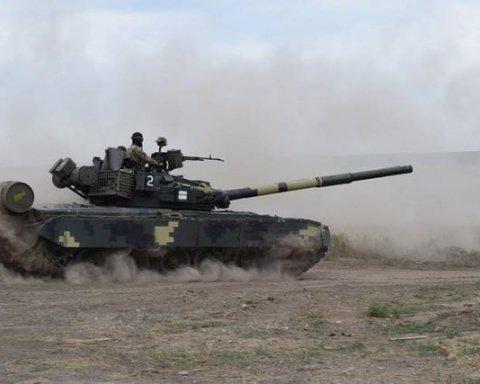 На Донбассе разоблачили танковую позицию боевиков «для провокаций»