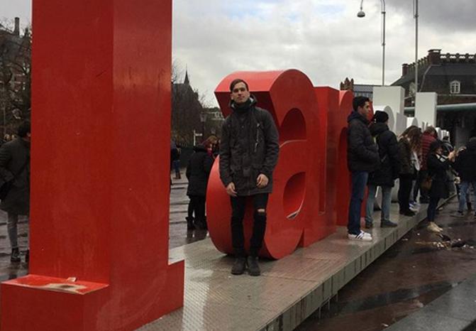 Украинский студент встретил Луценко и Коломойского в Нидерландах