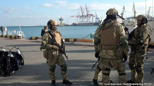США передали украинским морским пограничникам новое оборудование