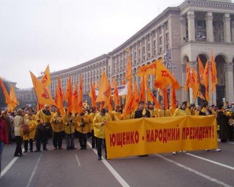 "Ющенко пророкує чотири нових ""майдани"""
