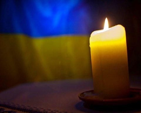 В Киеве умер ветеран АТО: фото, видео и подробности