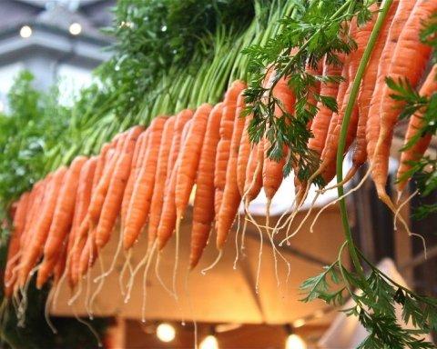 В Україні рекордно подорожчала морква