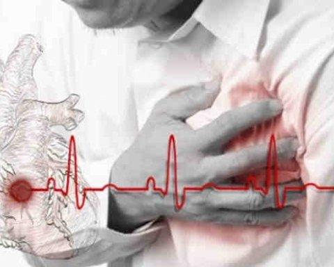 Медики назвали ранні симптоми інфаркту