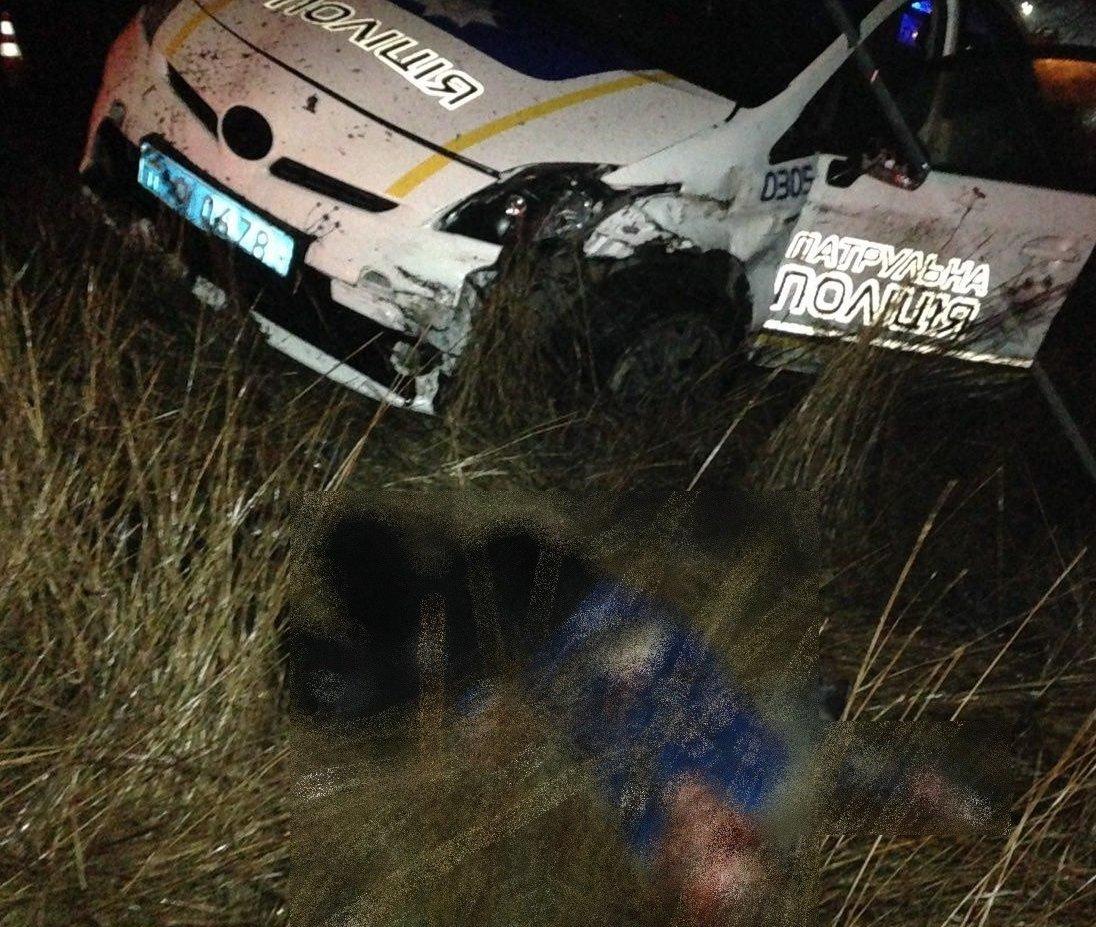 Около Николаева полицейские обезвредили угонщика сгранатой