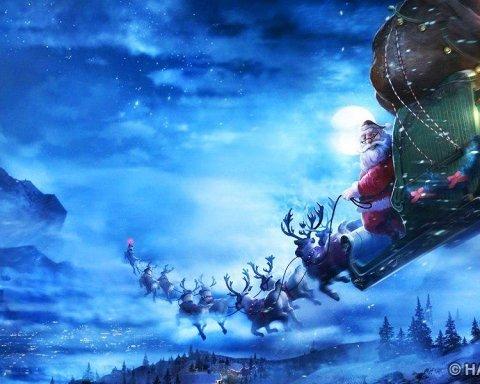 Світ спостерігає за мандрівкою Санта-Клауса (онлайн-трансляція)