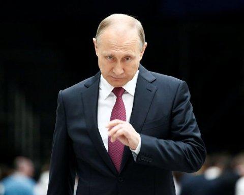 В столице России появилась «могила» Путина: опубликовано фото