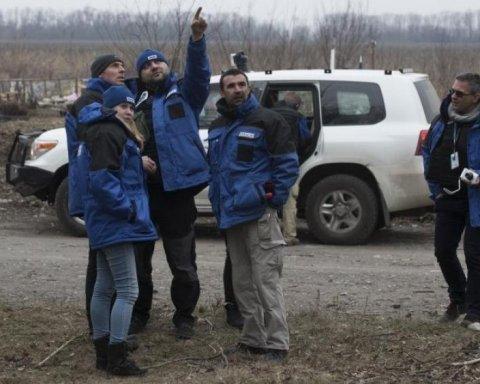 Бойовики обстріляли безпілотник ОБСЄ на Донбасі