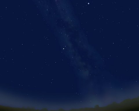 В небі над Донеччиною помітили незвичайне явище