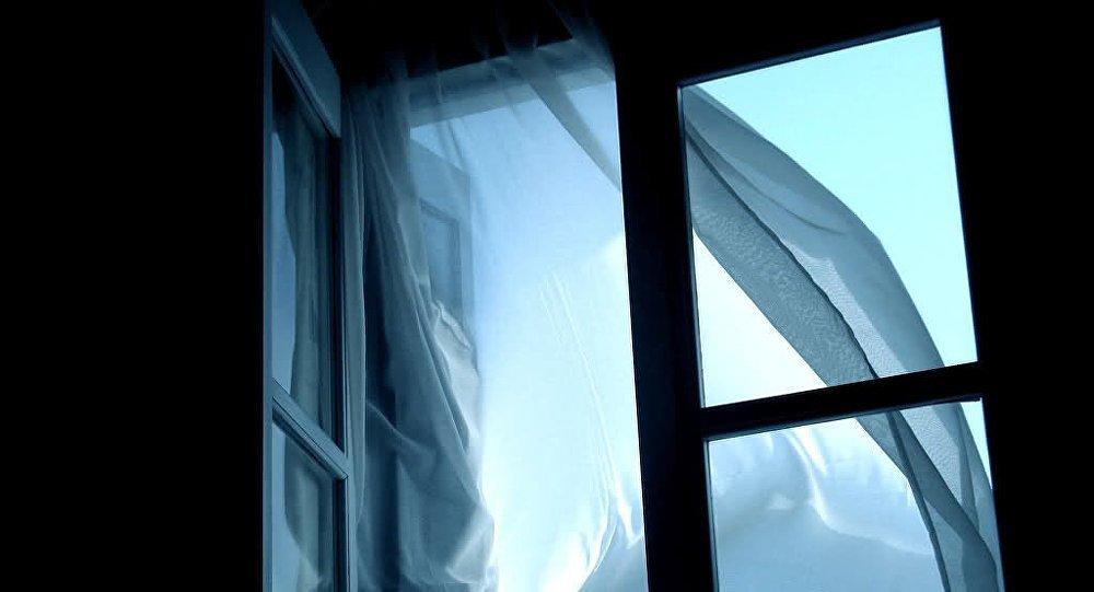 В окно череп смотрит — сознавать, что во внешнем мире нет дорогих тебе людей; по умершему тосковать.