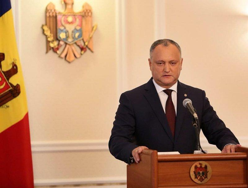 Президент Молдовы вступился за особый статус русского языка