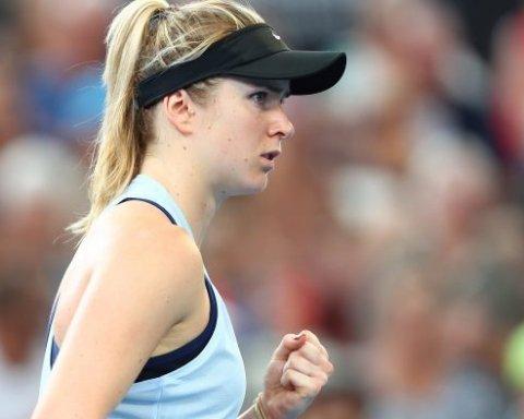 Свитолина вырвала победу на старте турнира Roland Garros-2018