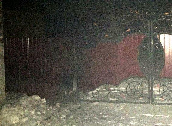 Вночі невідомі кинули гранату наподвір'я мешканця Рівненщини