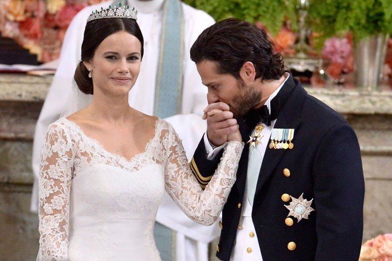 Принцесса София в элегантном платье затмевает красотой