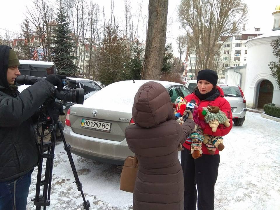 ВТернополе монах УПЦМП избил 2-х женщин наглазах у«правосеков»