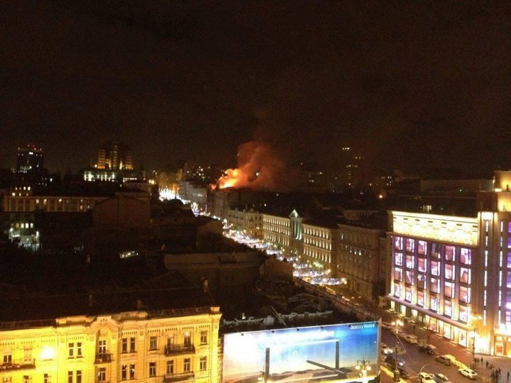 Масштабна пожежа у столиці злякала киян, є подробиці