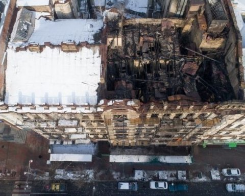 Пожар в историческом здании Киева: СМИ заговорили о конфликте семьи депутата и спонсора сепаратистов накануне