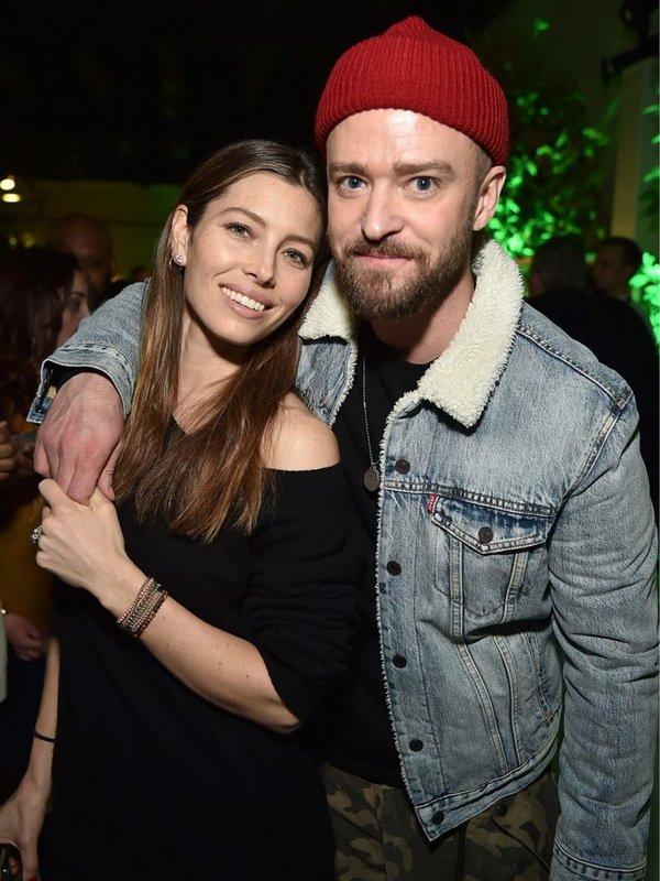 Джастина Тимберлейка и Джессику Бил «подловили» на вечеринке в Нью-Йорке