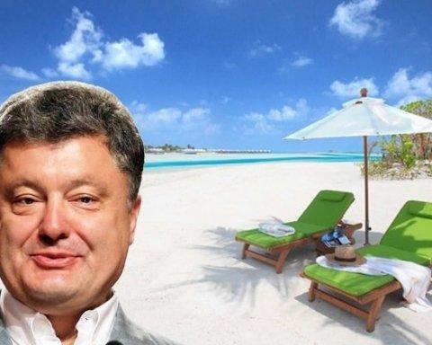 Приватна поїздка на Мальдіви: стало відомо, де насправді відпочивав Порошенко