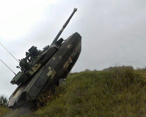 Мощный и быстрый: украинский танк «Оплот» прошел испытания в Пакистане (видео)