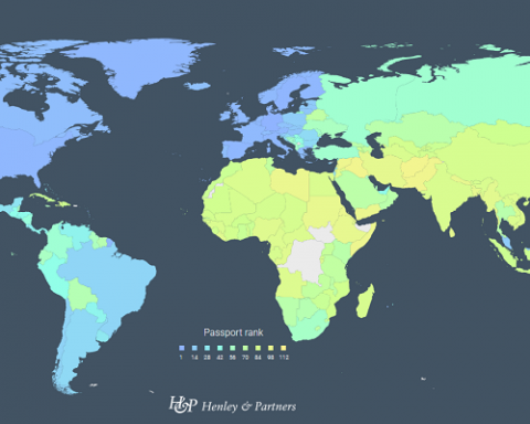 Украина обогнала Россию в международном рейтинге паспортов