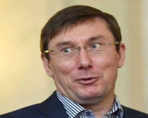 Луценко із сокирою зустрічав активістів: всі подробиці