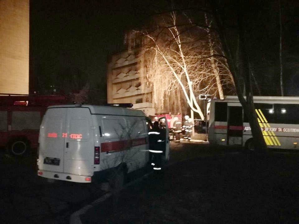 ВКиеве горела психиатрическая клиника им.Павлова, эвакуированы 17 детей