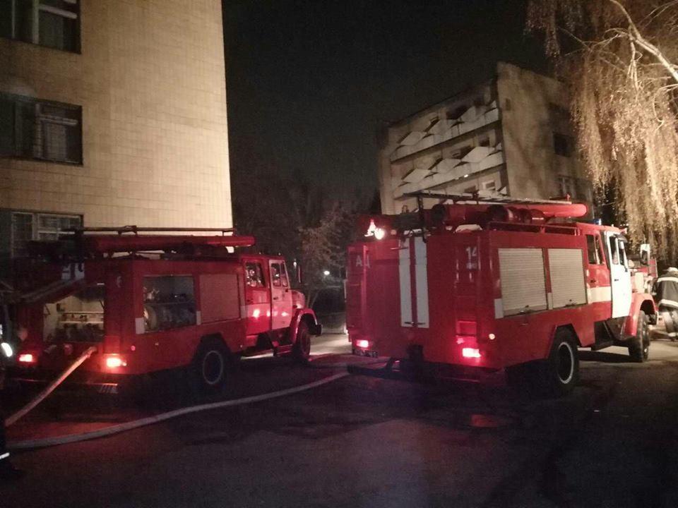 Вдетском отделении киевской психбольницы вспыхнул пожар