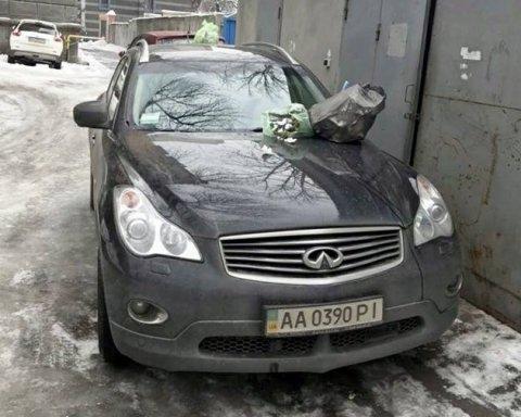 "Кияни жорстоко провчили ""героя паркування"""
