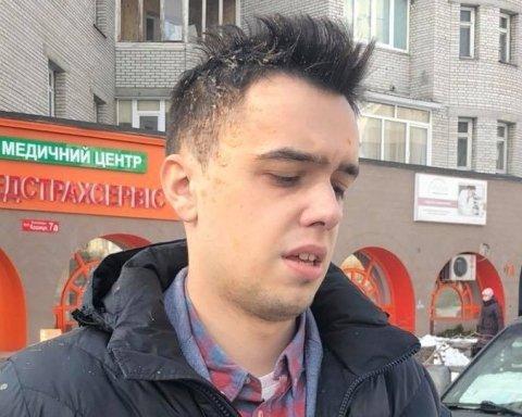 У Києві закидали яйцями відомого блогера