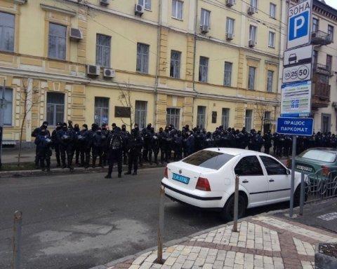 В центр Киева стянули тысячи правоохранителей, есть подробности
