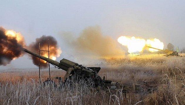 Боевики получили приказ бить с пушек по Светлодарской дуге