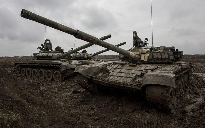 Стало відомо про масове пересування танків ворога на Донбасі