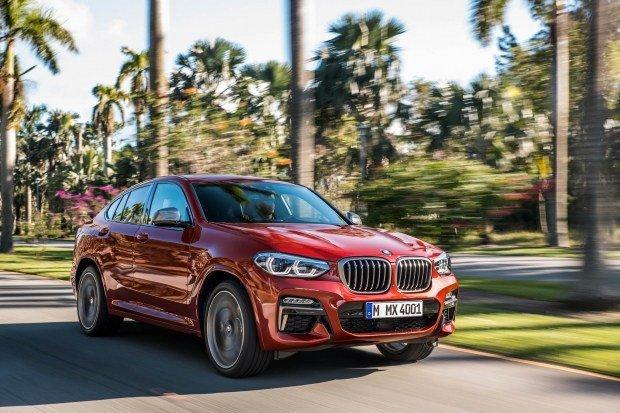 Новый X4 рассекретили в BMW