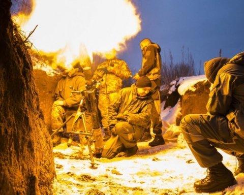 Донецкие боевики обострили атаки под Водяным и Гнутово