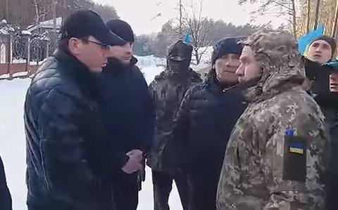 Бійка мітингувальників під носом у Луценка: з'явилися подробиці