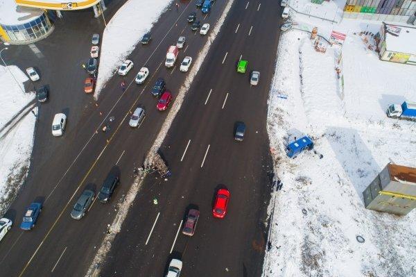 Смертельное ДТП под Киевом появилось