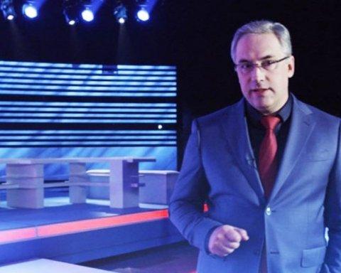Російський телеведучий напав на українця у прямому ефірі