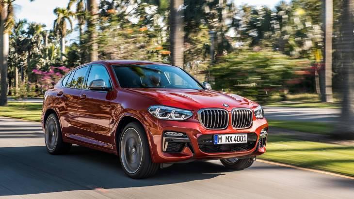 Новый Х4 представила BMW