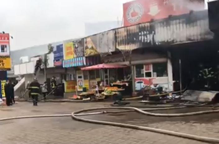 УКиєві через пожежу закрили «Лівобережну» станцію метро (ФОТО, ВІДЕО)