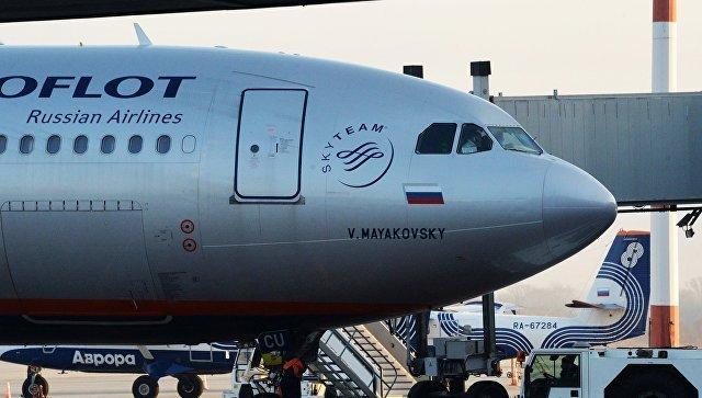 УЛондоні обшукали літак «Аерофлоту», щоприбув зМоскви