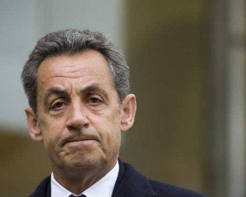 Затримали екс-президента Франції Ніколя Саркозі