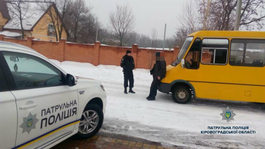 Украинцев ошеломил пьяный водитель маршрутки, который перевозил пассажиров