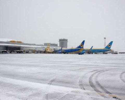 Проблемная посадка самолета в «Борисполе»: появились фото и важные подробности