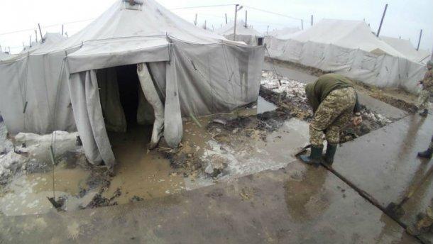 В нечеловеческих условиях на полигоне Широкий Лан во время пожара погиб военный
