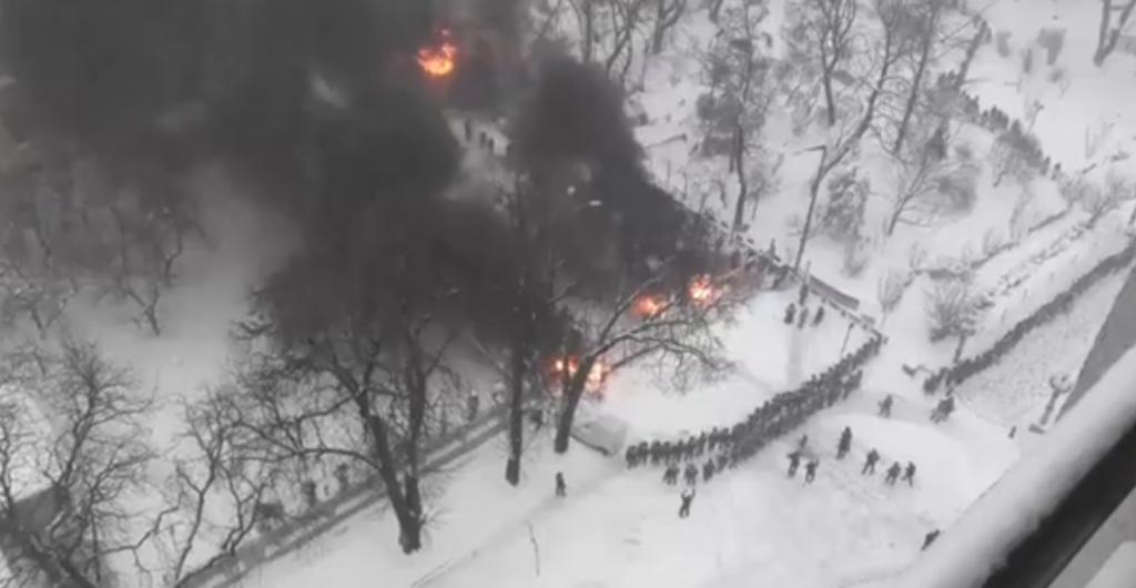 Палаточный городок Саакашвили взяли штурмом