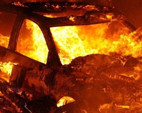 Киевлянин посреди ночи взорвал автомобиль из-за «разбитого сердца»