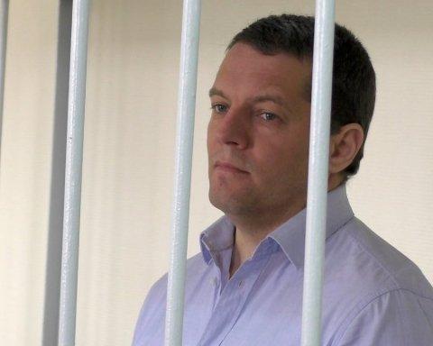 Жену и дочь политзаключенного Сущенко пустили в застенки Кремля