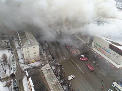 Пожежа в Кемерово: кількість жертв зросла до 37