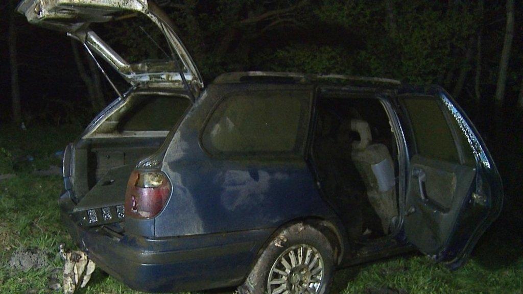 Зникле на Вінничині подружжя знайшли в автомобілі на дні річки