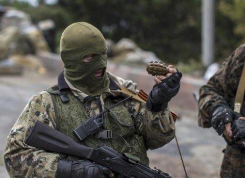 Терористи на Донбасі підірвалися на власній зброї